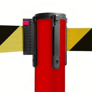 colonnina-segna-percorso-rosso-base-piatta-nastro-giallo-nero-3-metri_1-1