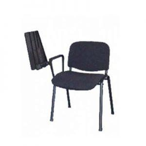 sedia-conferenza-grigia-con-ribaltina-1