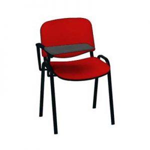 sedia-conferenza-rossa-con-ribaltina-1