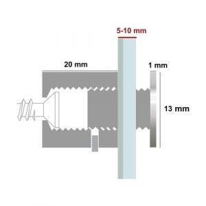 blister-di-4-distanziali-in-acciaio-spazzolato-con-sistema-di-chiusura-di-sicurezza-13x20-mm-1