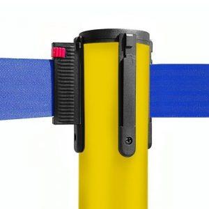 colonnina-segna-percorso-giallo-base-piatta-nastro-blu-3-metri-ultra-pesante-15-kg-1