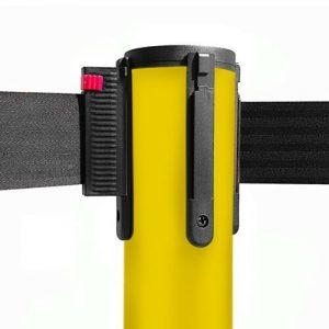 colonnina-segna-percorso-giallo-base-piatta-nastro-nero-3-metri-1