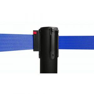 colonnina-segna-percorso-nera-con-nastro-blu-di-3-metri-1