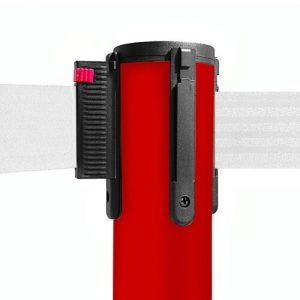colonnina-segna-percorso-rosso-base-piatta-nastro-bianco-3-metri-ultra-pesante-15-kg-1